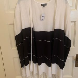 The Limited Poncho Sweater